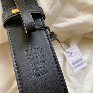 |Ńėw Gucci Belt Àuthèntíc Double G Marmot GG